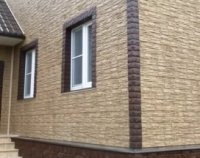 Облицовка фасада фасадными панелями